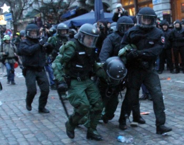 verletzter Polizist