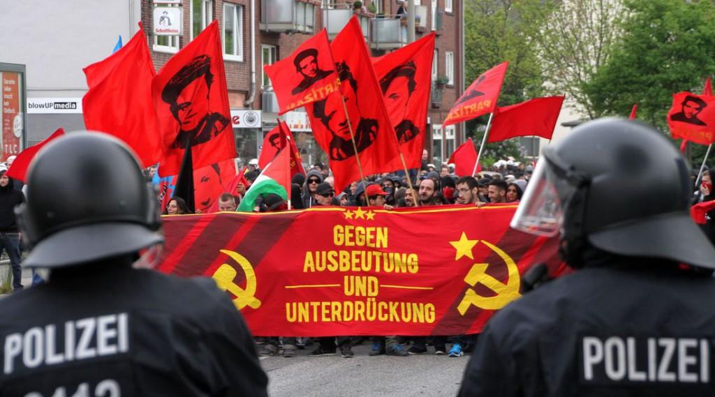 Revolutionäre 1. Mai-Demonstration in Hamburg